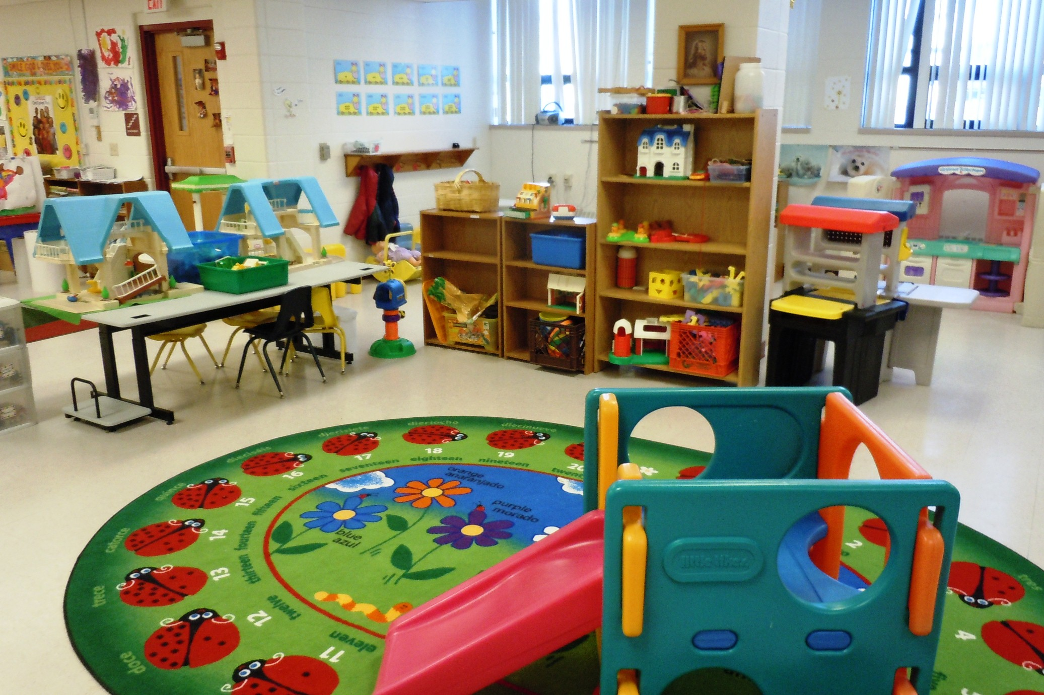 Day Care Center w/Real Estate daycare play rug